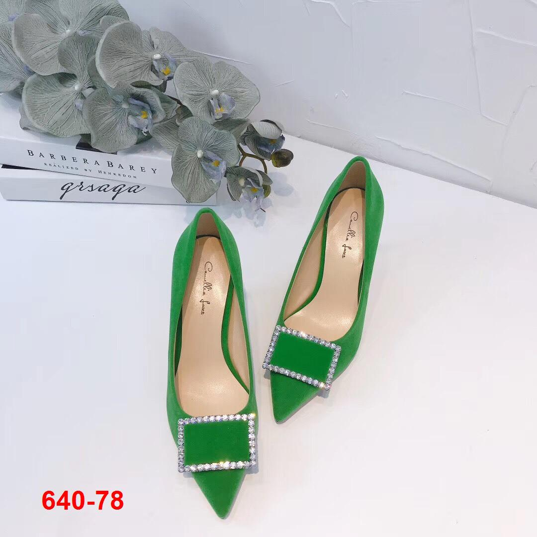 640-78 Camellia Love giày cao 8cm siêu cấp