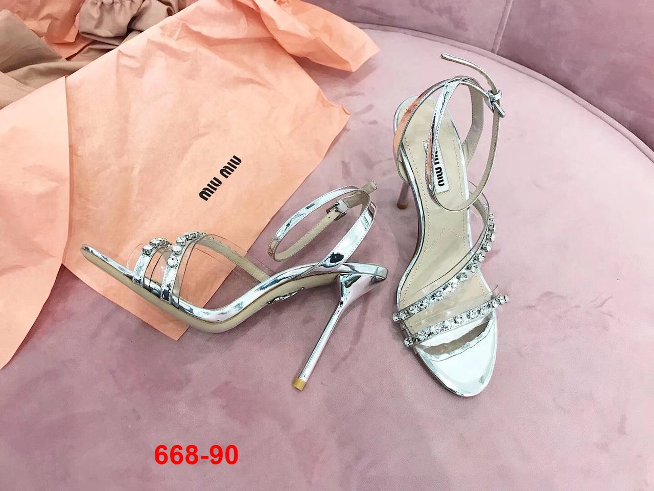 668-90 Miu Miu sandal cao 11cm siêu cấp