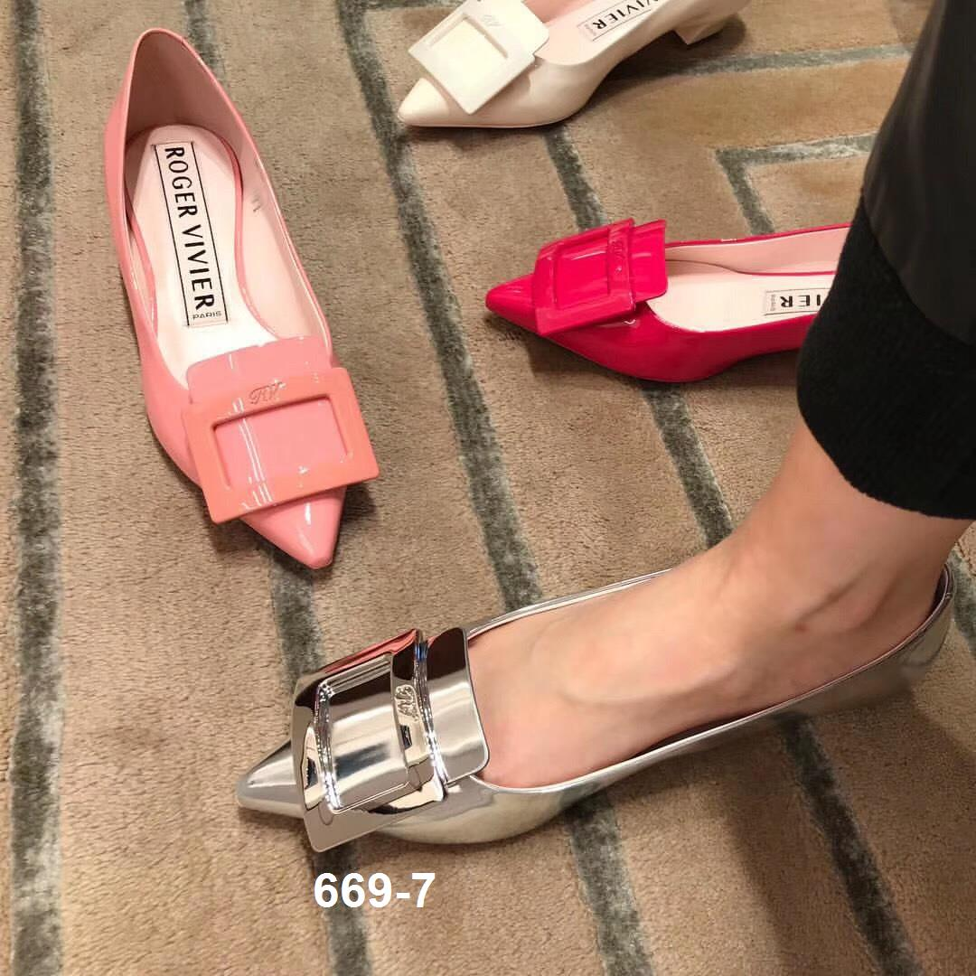 669-7 Roger Vivier giày cao 4cm siêu cấp