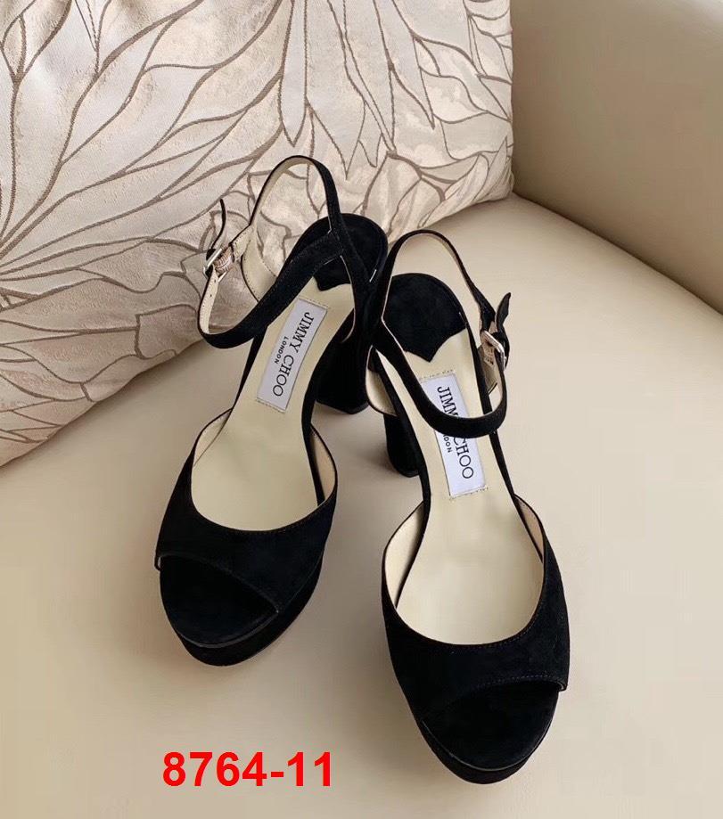 8764-11 Jimmy Choo sandal cao 10cm đế kếp  3cm siêu cấp