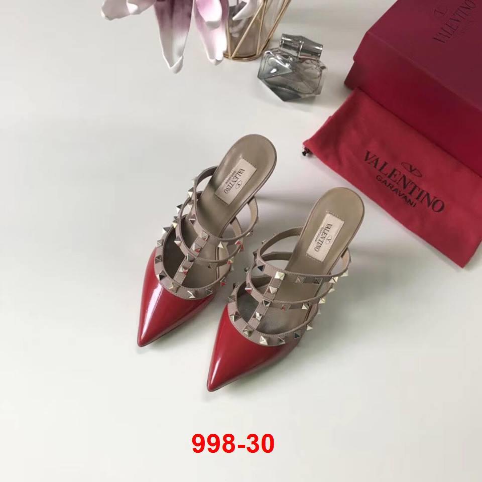 998-30 Valentino sandal cao 9cm siêu cấp