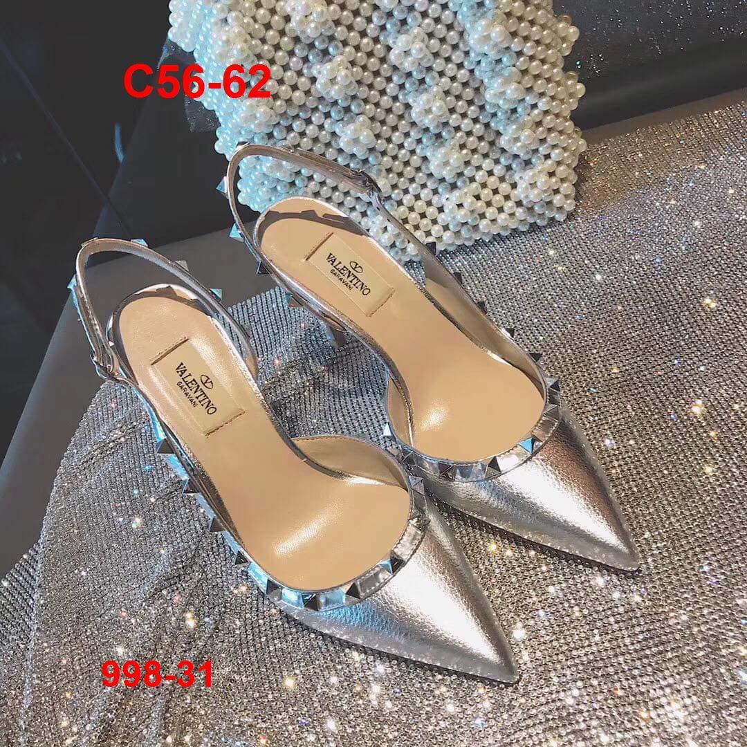 998-31 Valentino sandal cao 9cm siêu cấp