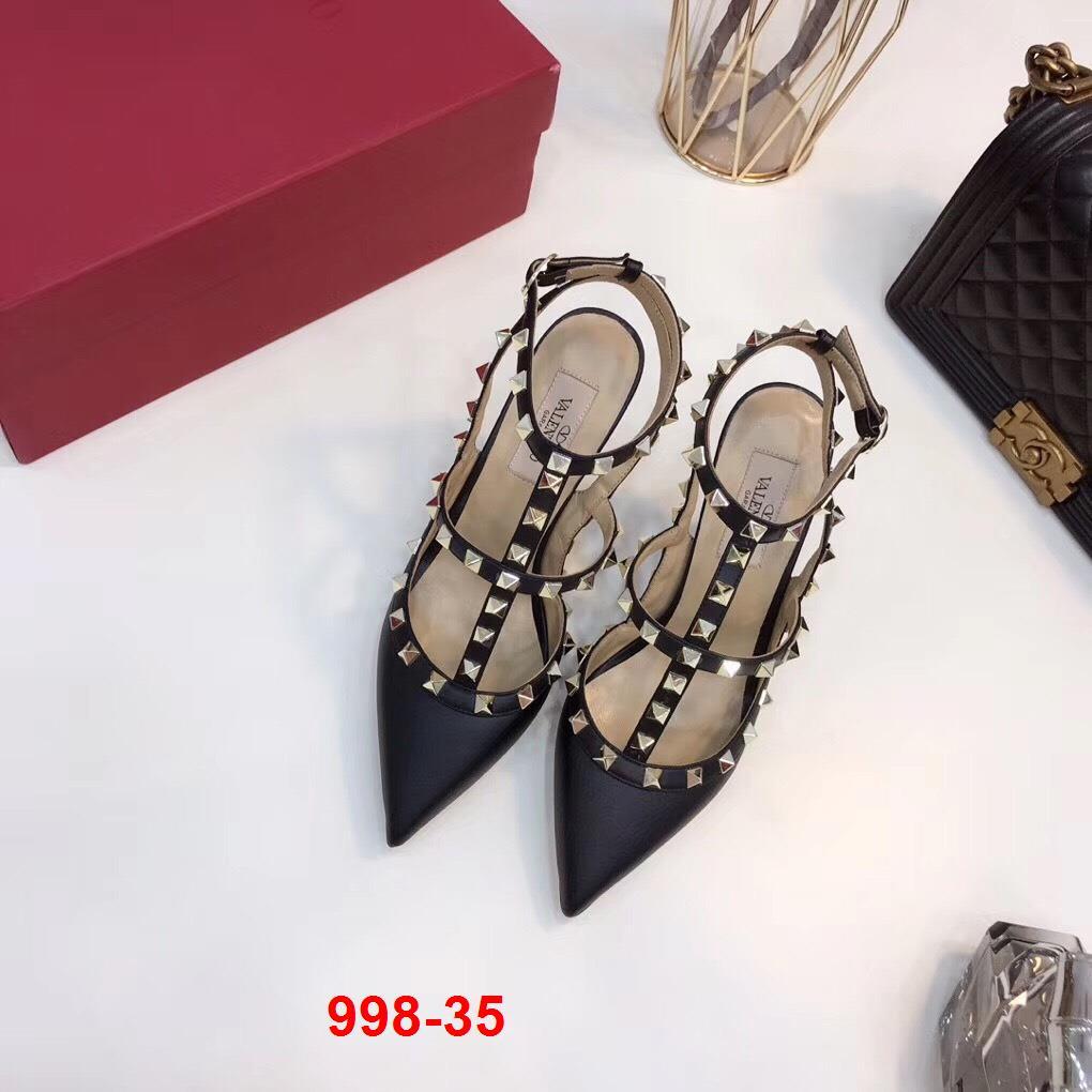 998-35 Valentino sandal cao 10cm siêu cấp