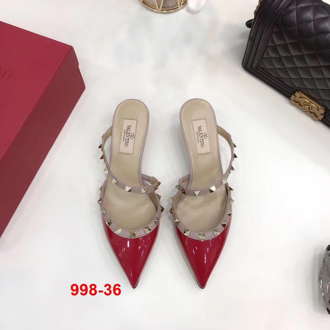 998-36 Valentino sandal cao 5cm siêu cấp