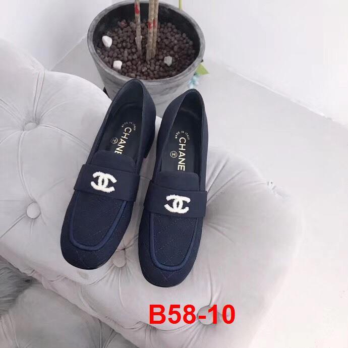 B58-10 Chanel giày cao 3cm siêu cấp