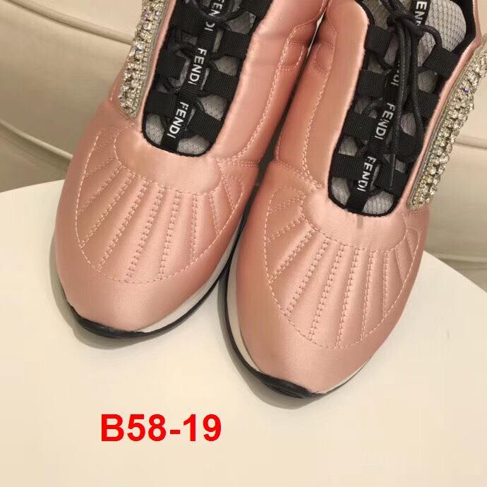 B58-19 Fendi giày thể thao siêu cấp