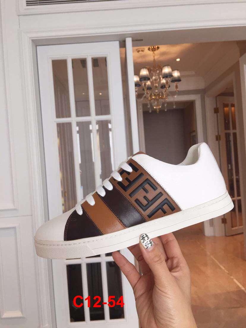 C12-54 Fendi giày thể thao siêu cấp