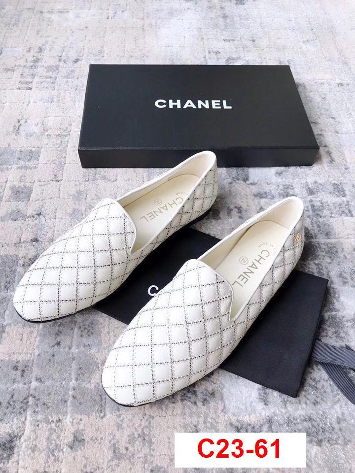 C23-61 Chanel giày lười siêu cấp
