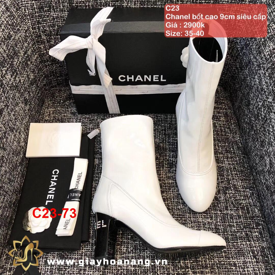 C23-73 Chanel bốt cao 9cm siêu cấp