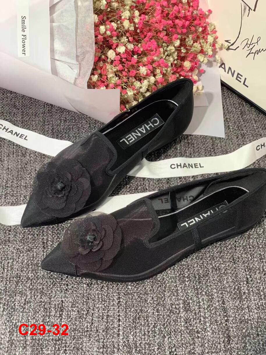 C29-32 Chanel giày bệt siêu cấp