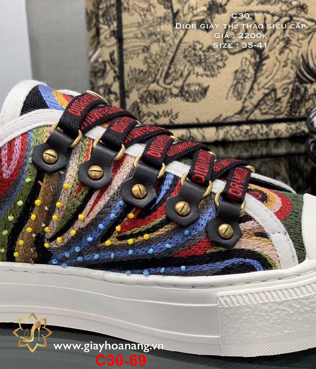C30-69 Dior giày thể thao siêu cấp