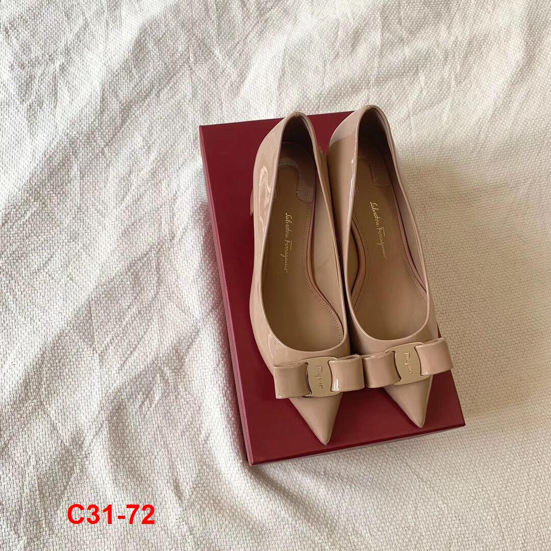 C31-72 Salvatore Ferragamo giày cao 6cm siêu cấp