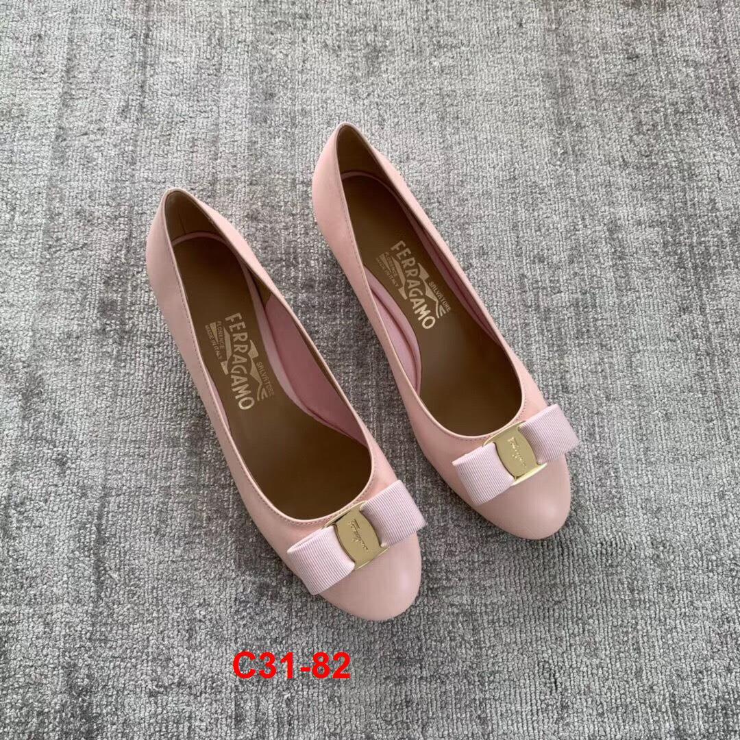 C31-82 Salvatore Ferragamo giày cao 4cm siêu cấp