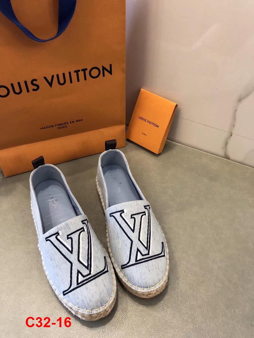 C32-16 Louis Vuitton giày lười siêu cấp