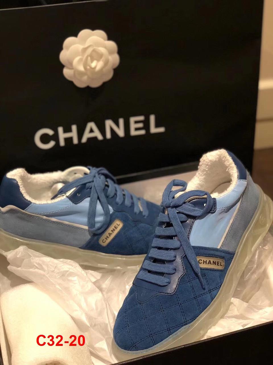 C32-20 Chanel giày thể thao siêu cấp