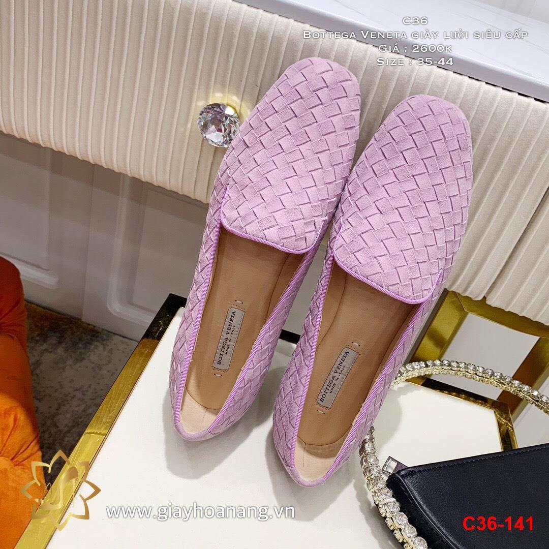 C36-141 Bottega Veneta giày lười siêu cấp