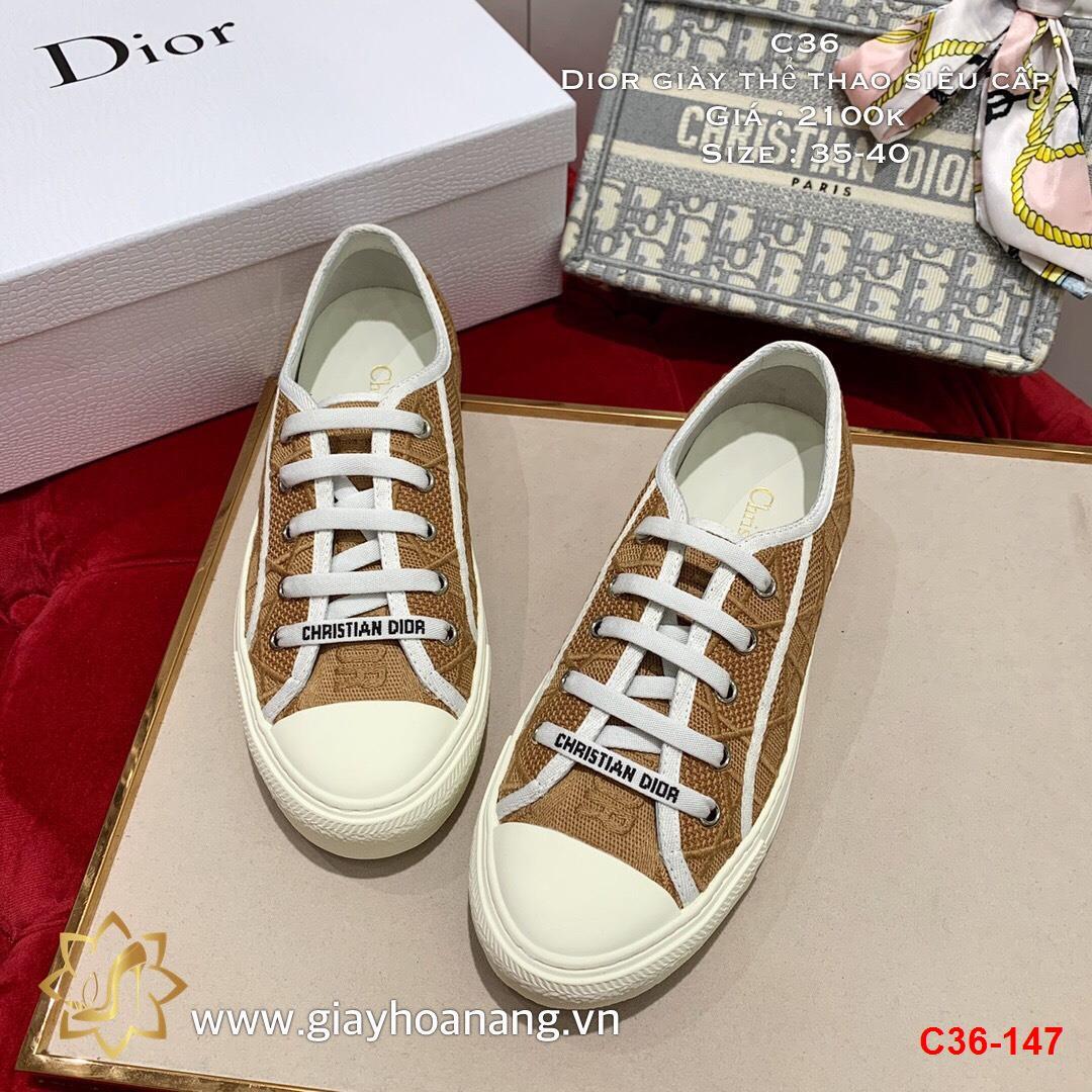 C36-147 Dior giày thể thao siêu cấp
