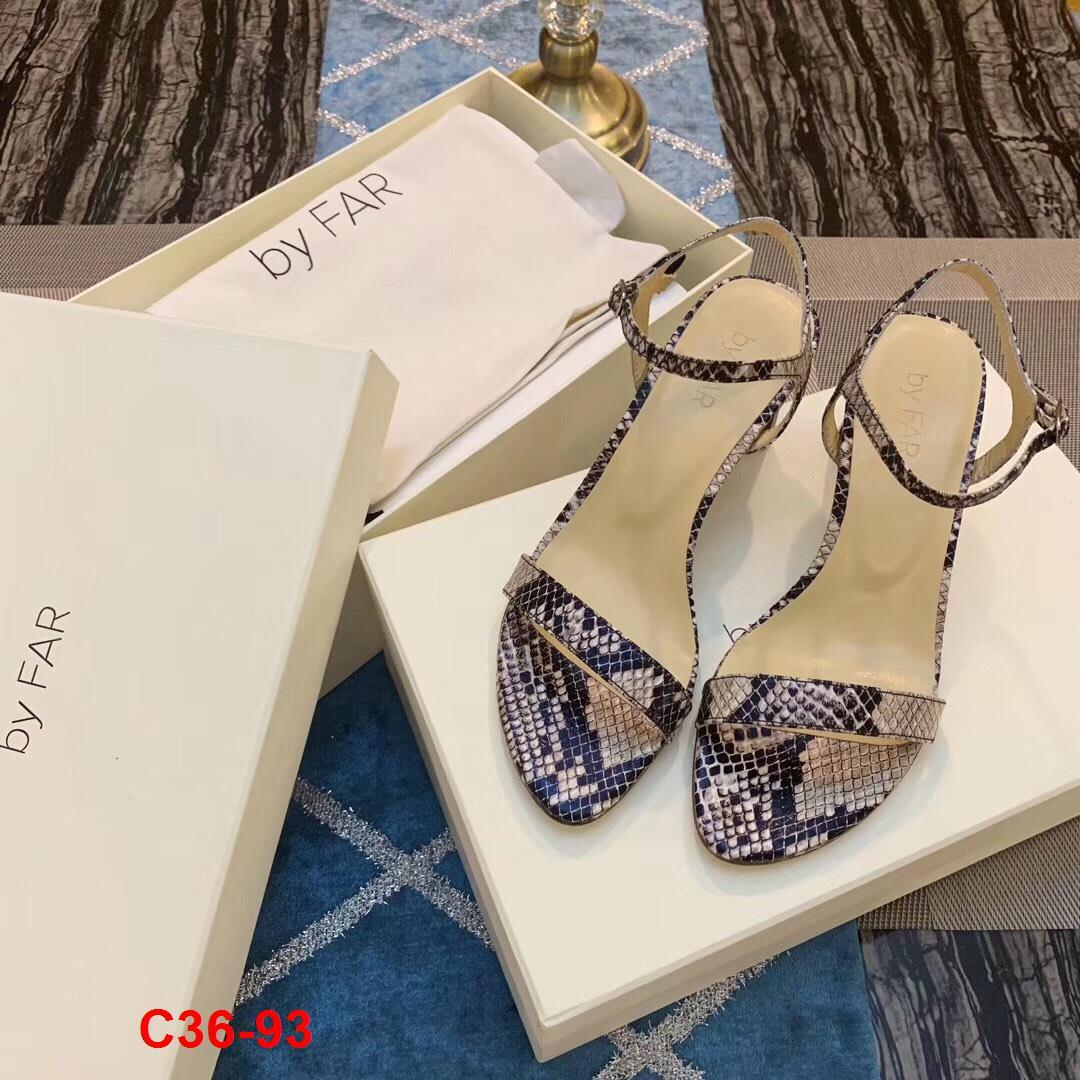 C36-93 By Far sandal cao 6cm siêu cấp