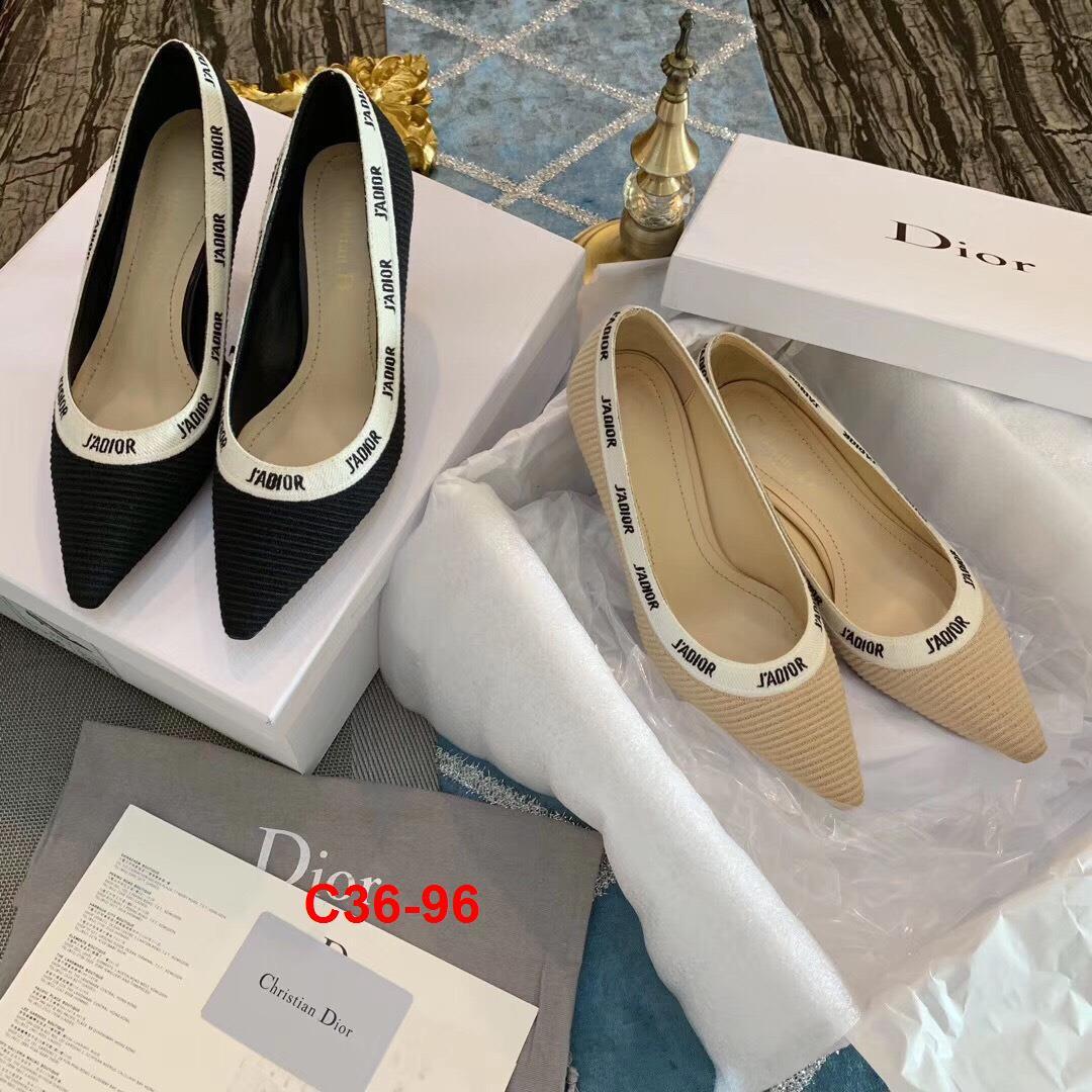 C36-96 Dior giày cao 5cm siêu cấp
