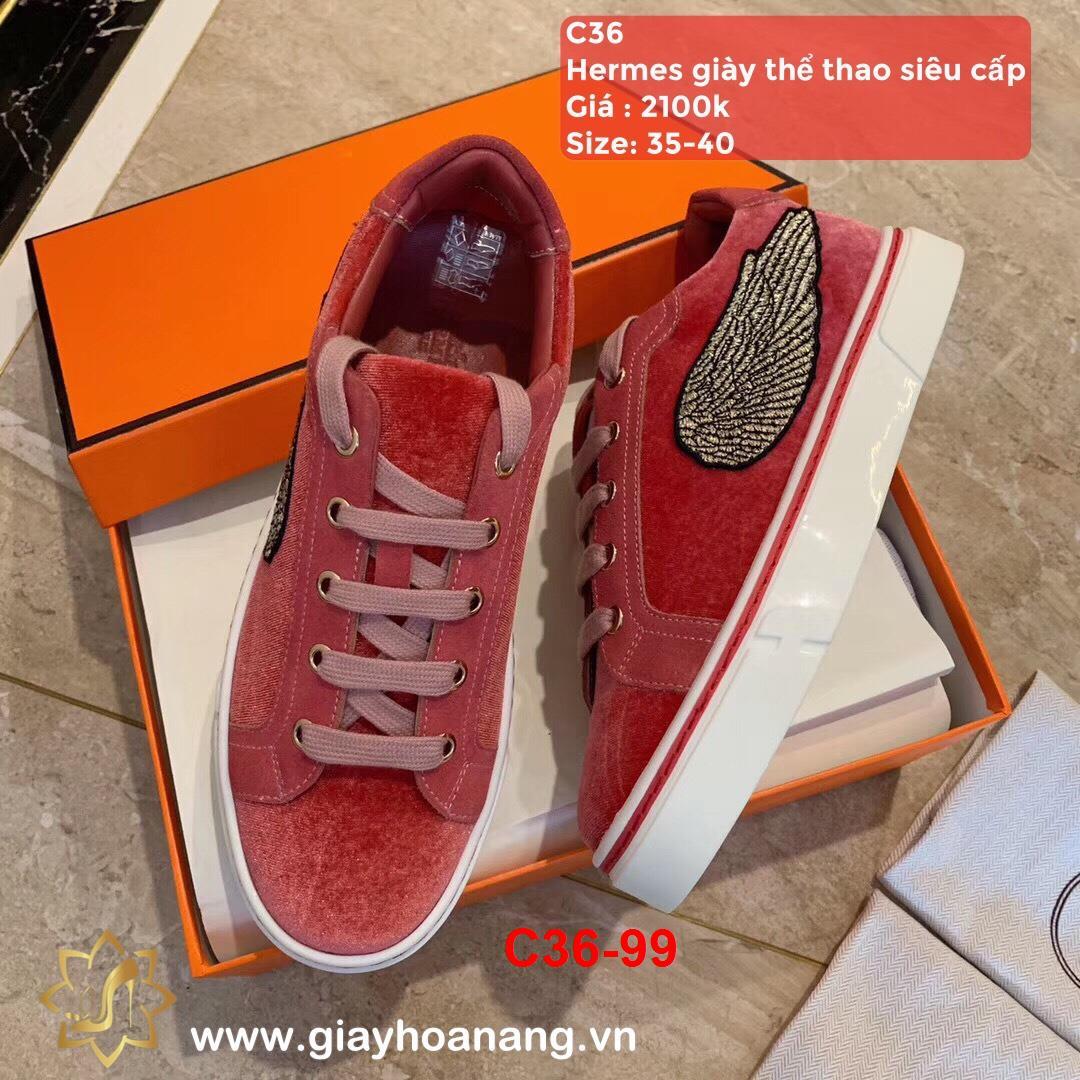 C36-99 Hermes giày thể thao siêu cấp