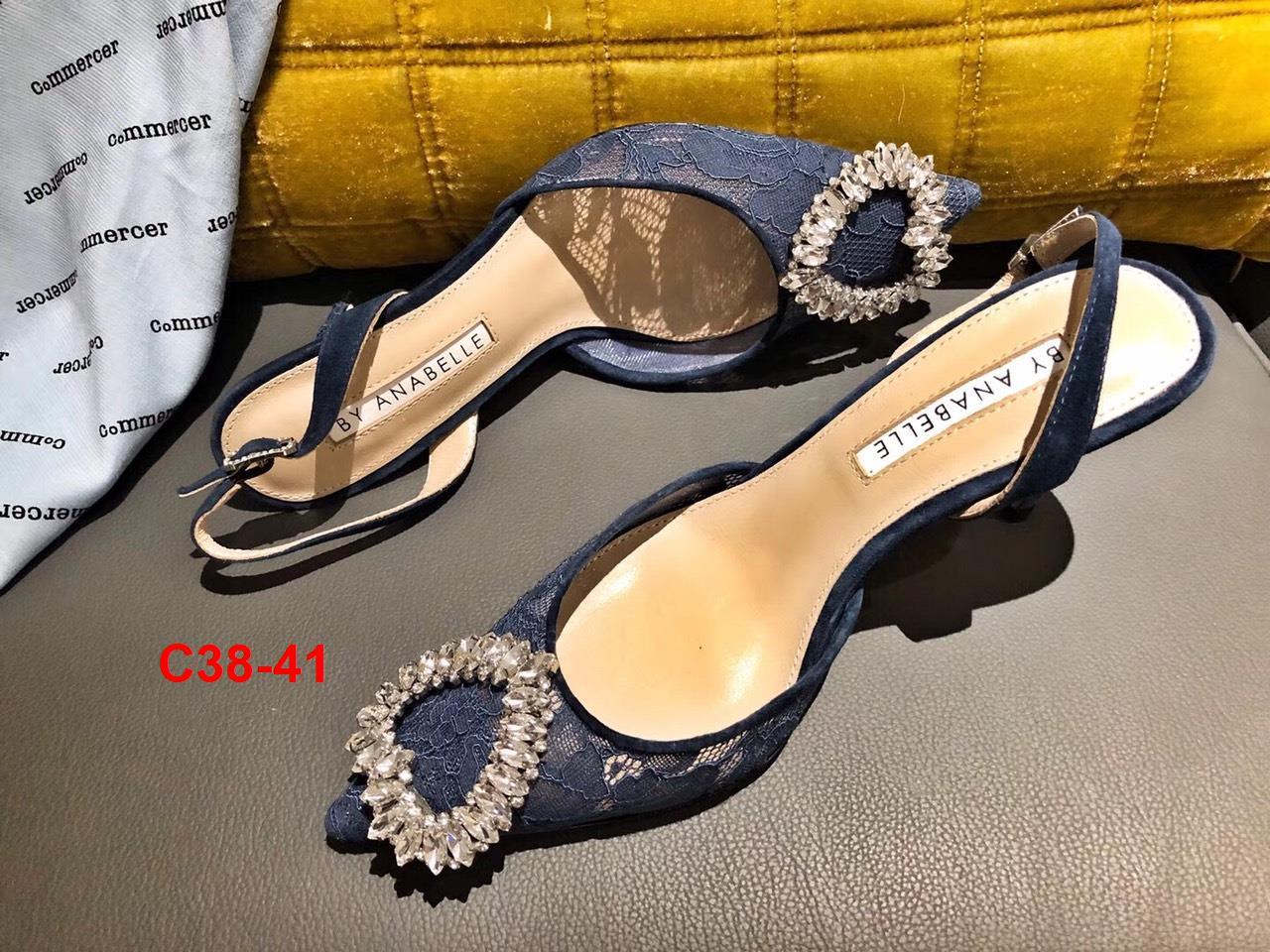 C38-41 By AnaBelle sandal cao 9cm siêu cấp