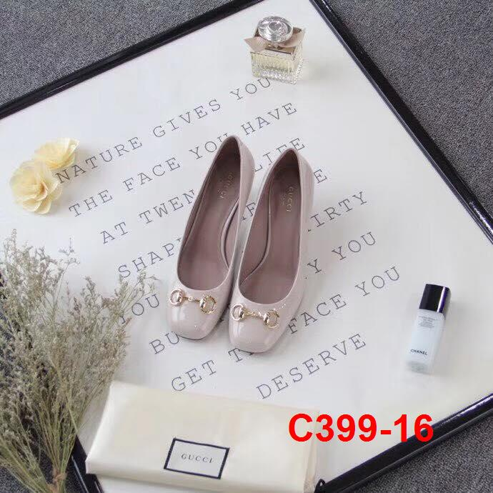 C399-16 Gucci giày cao 6cm siêu cấp