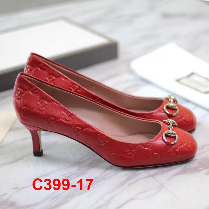 C399-17 Gucci giày cao 6cm siêu cấp