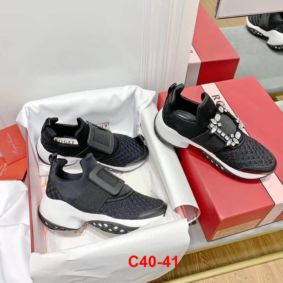 C40-41 Roger Vivier giày thể thao siêu cấp