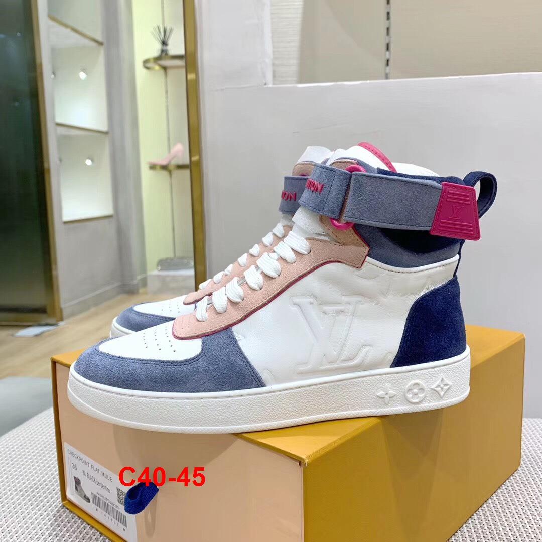 C40-45 Louis Vuitton giày thể thao siêu cấp