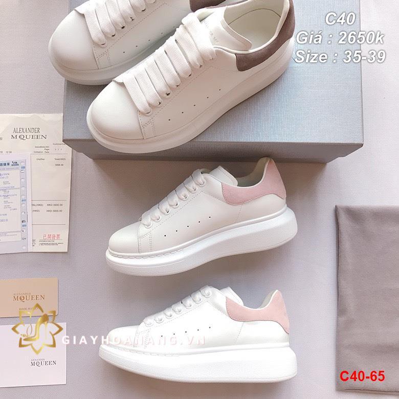C40-65 Alexander Mcqueen giày thể thao siêu cấp