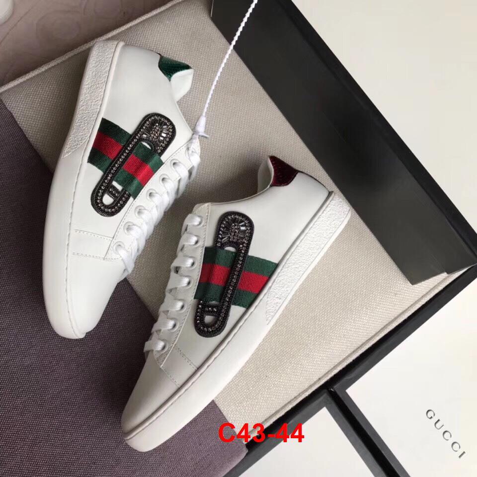 C43-44 Gucci giày thể thao siêu cấp