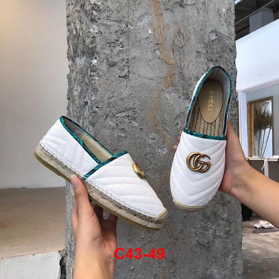 C43-49 Gucci giày lười siêu cấp