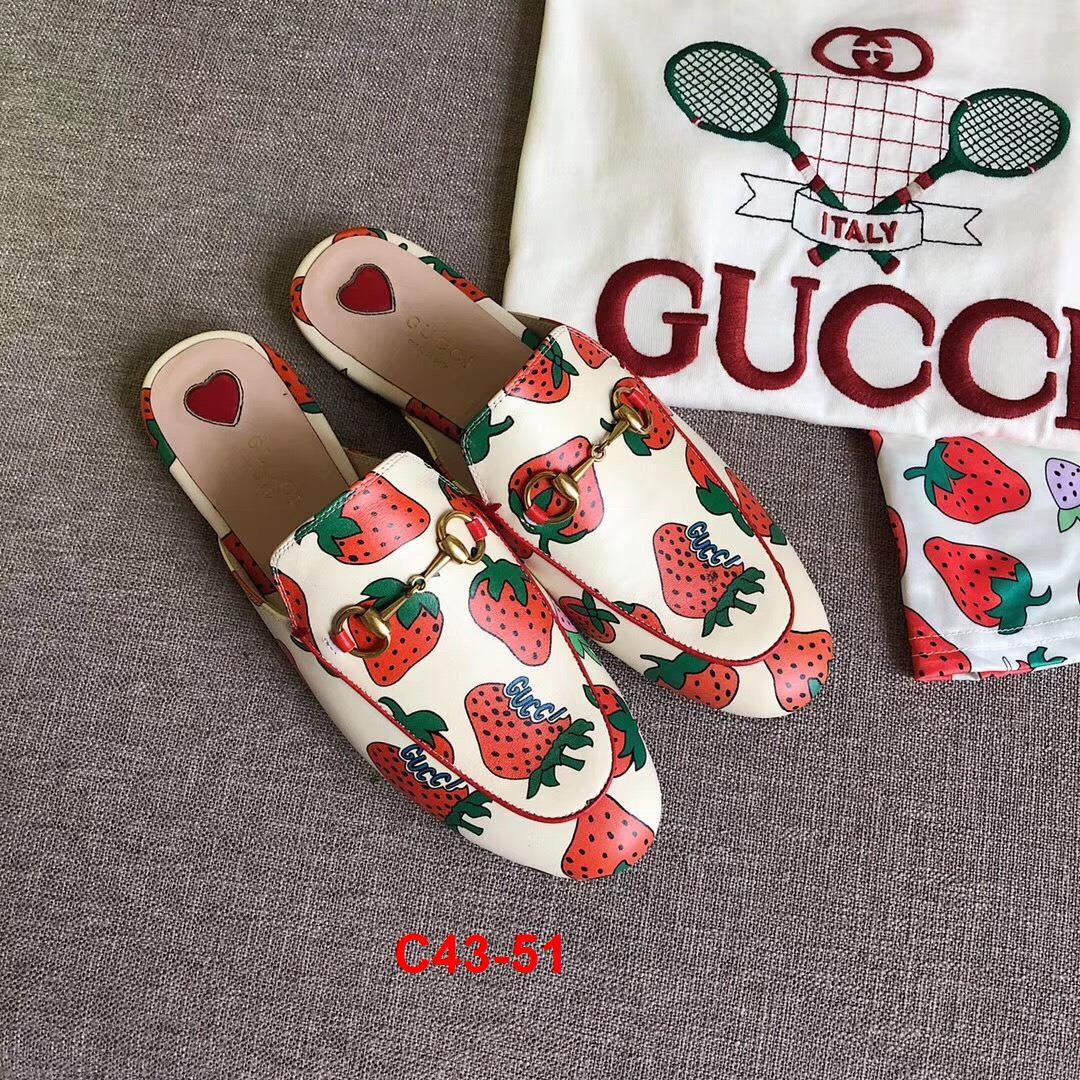 C43-51 Gucci dép sục bệt siêu cấp