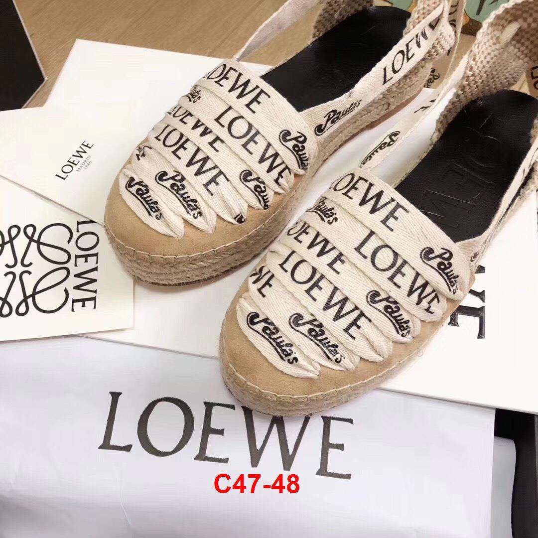 C47-48 Loewe sandal bệt siêu cấp