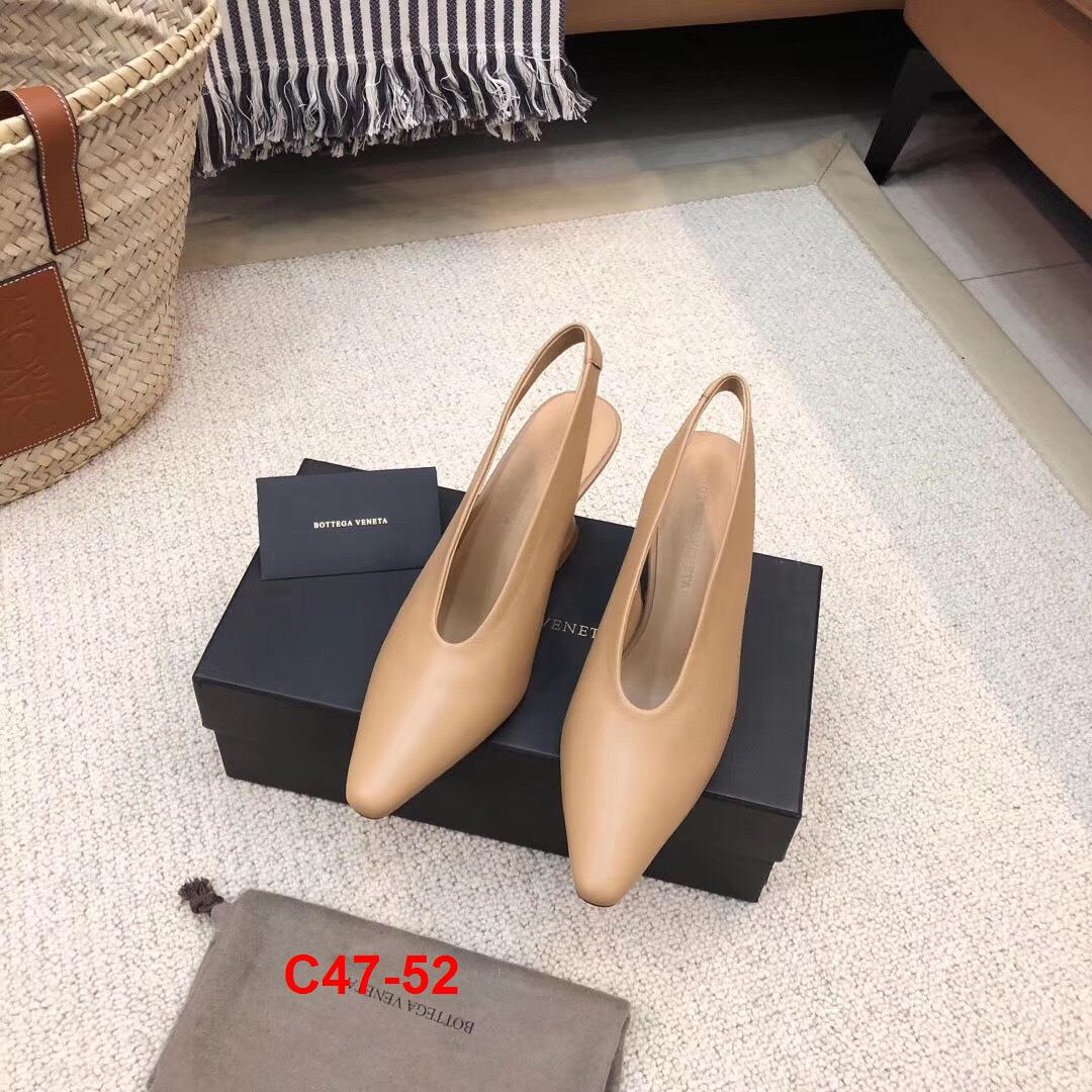 C47-52 Bottega Veneta sandal cao 6cm siêu cấp