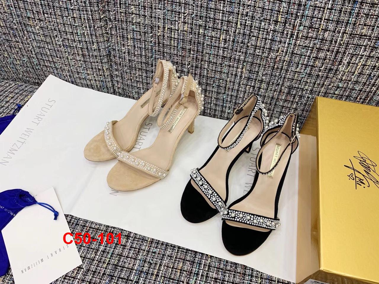 C50-101 Stuart Weitzman sandal cao 9cm siêu cấp