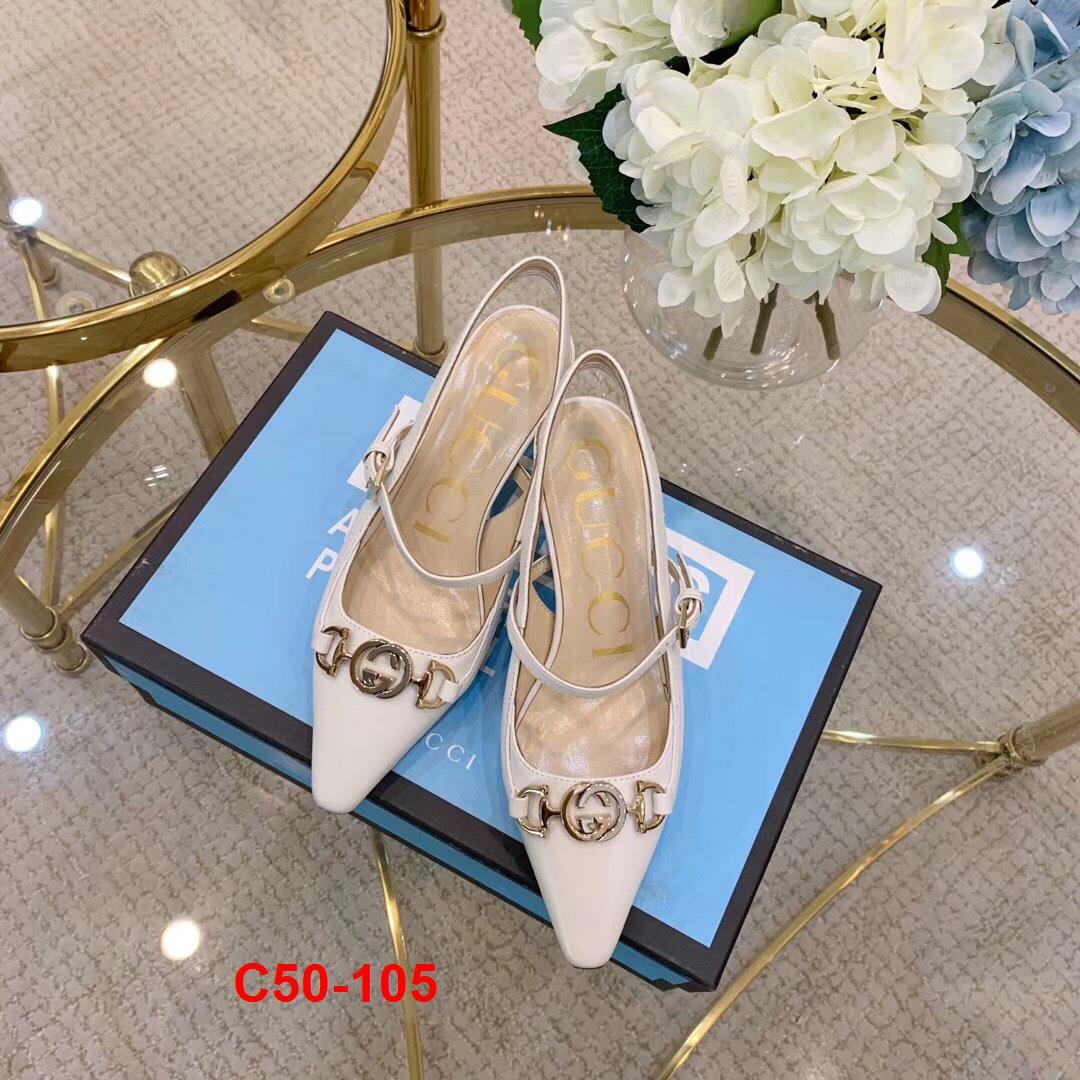 C50-105 Gucci sandal cao 5cm siêu cấp