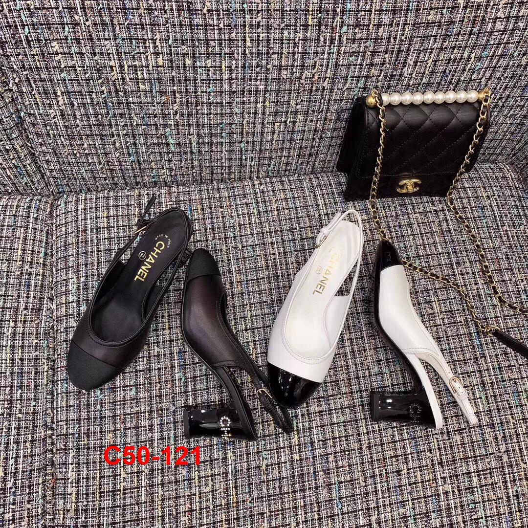 C50-121 Chanel sandal cao 7cm siêu cấp