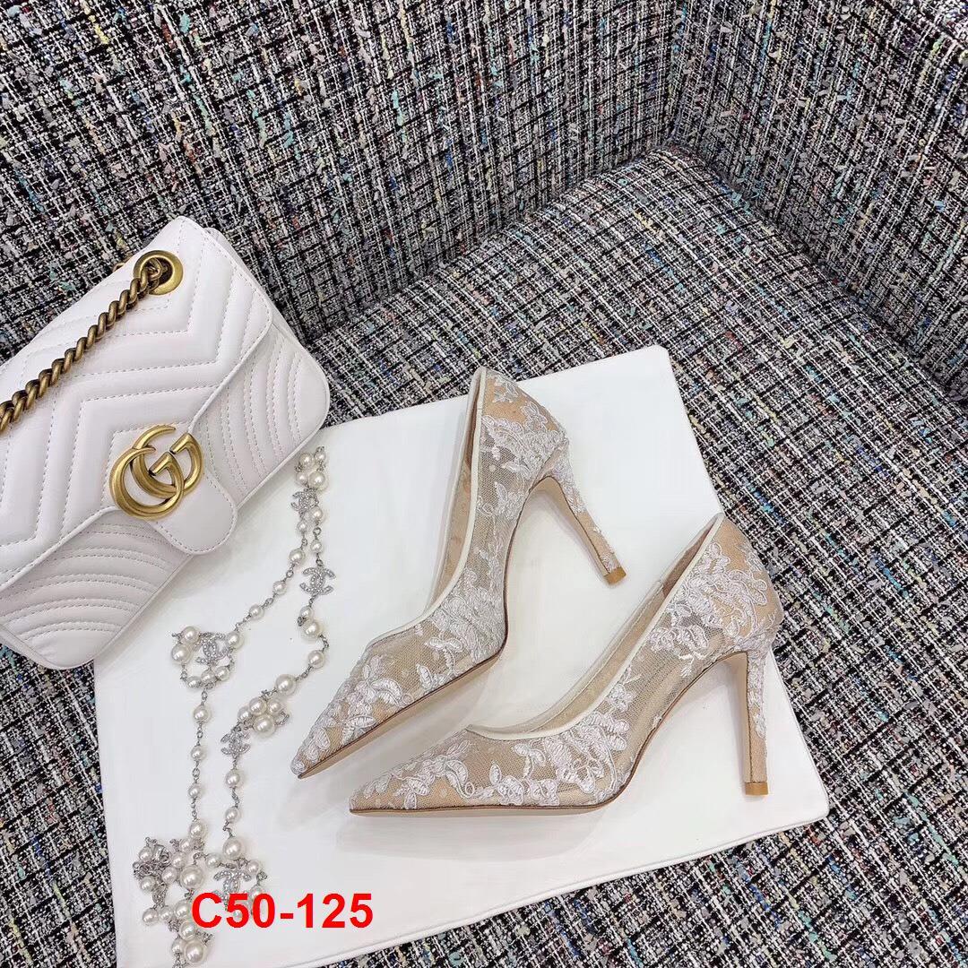 C50-125 Jimmy Choo giày cao 9cm siêu cấp