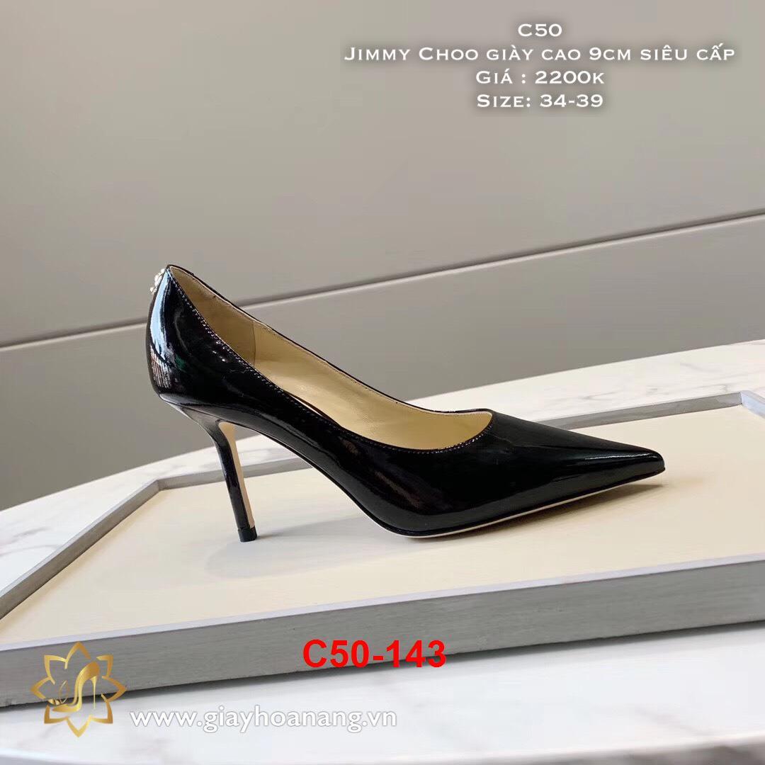 C50-143 Jimmy Choo giày cao 9cm siêu cấp