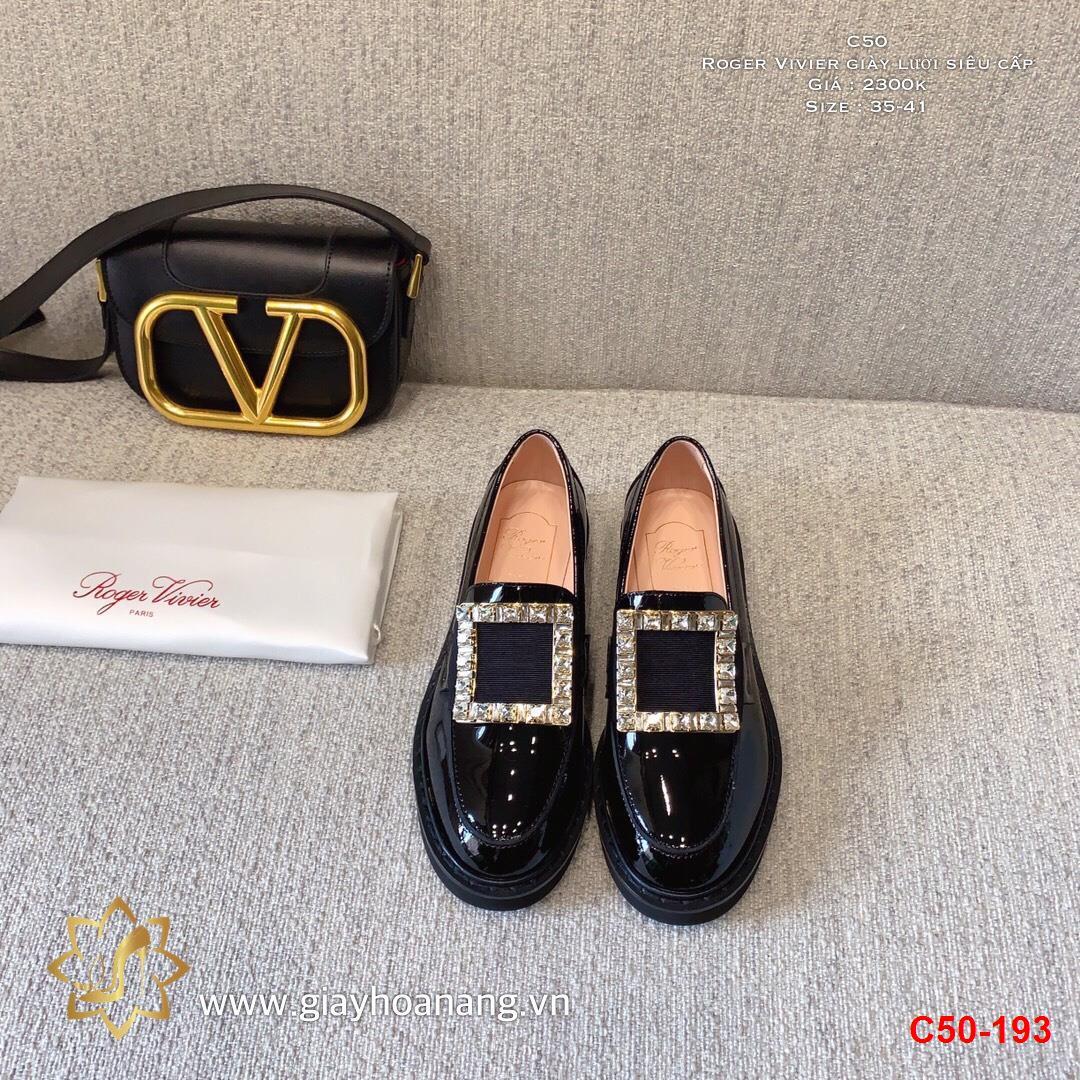C50-193 Roger Vivier giày lười siêu cấp