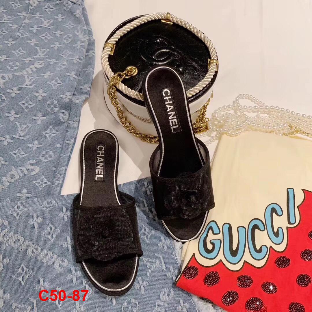 C50-87 Chanel dép bệt siêu cấp