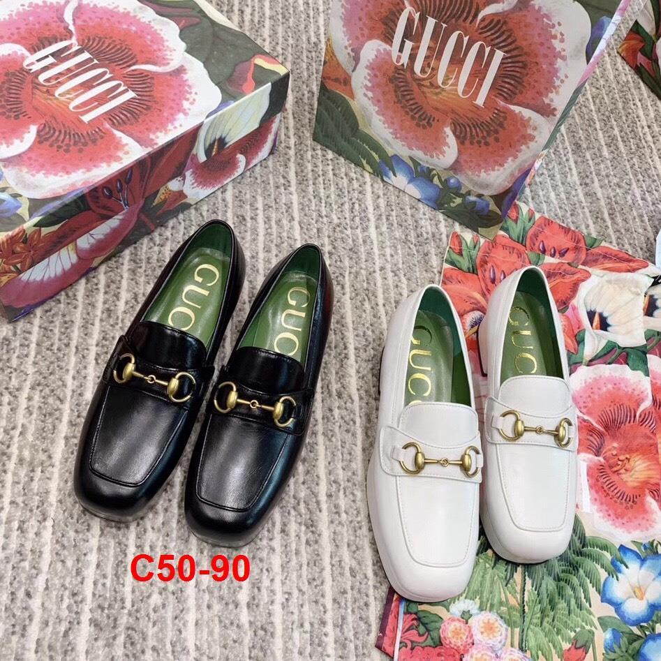 C50-90 Gucci giày cao 5cm siêu cấp