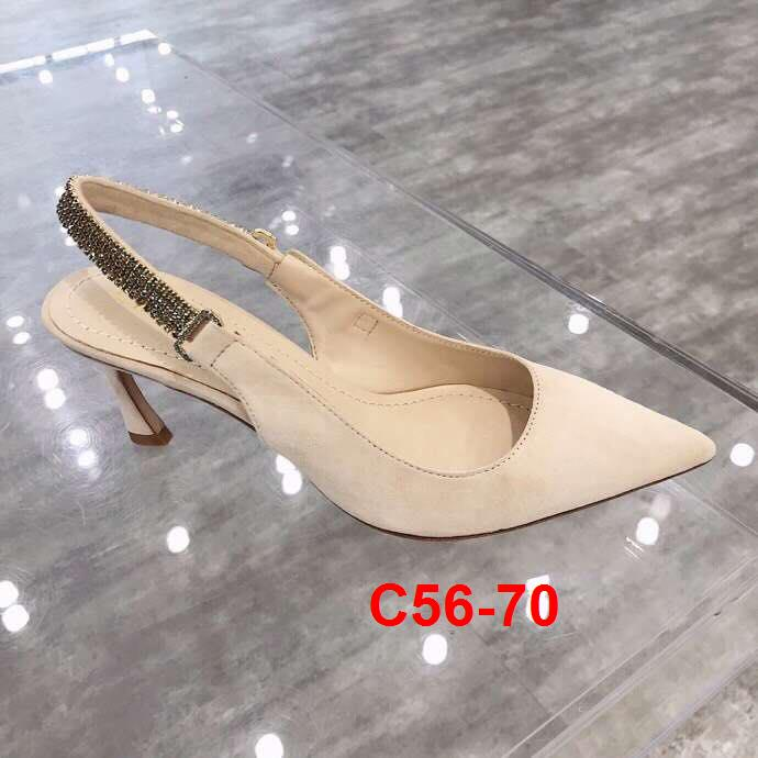 C56-70 Dior sandal cao 5cm siêu cấp
