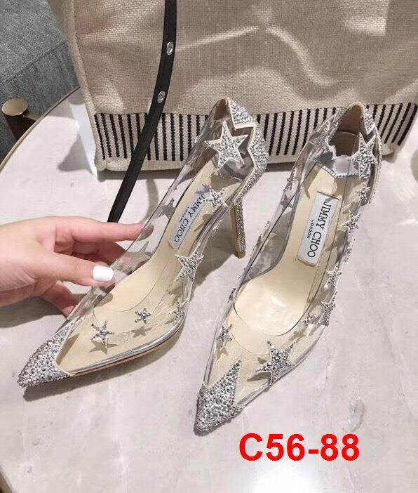 C56-88 Jimmy Choo giày cao 9cm siêu cấp