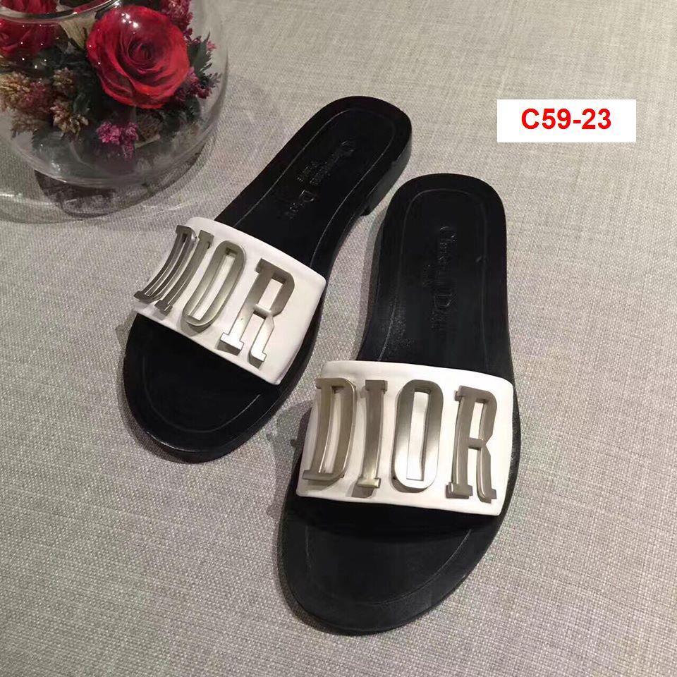 C59-23 Dior siêu cấp dép bệt