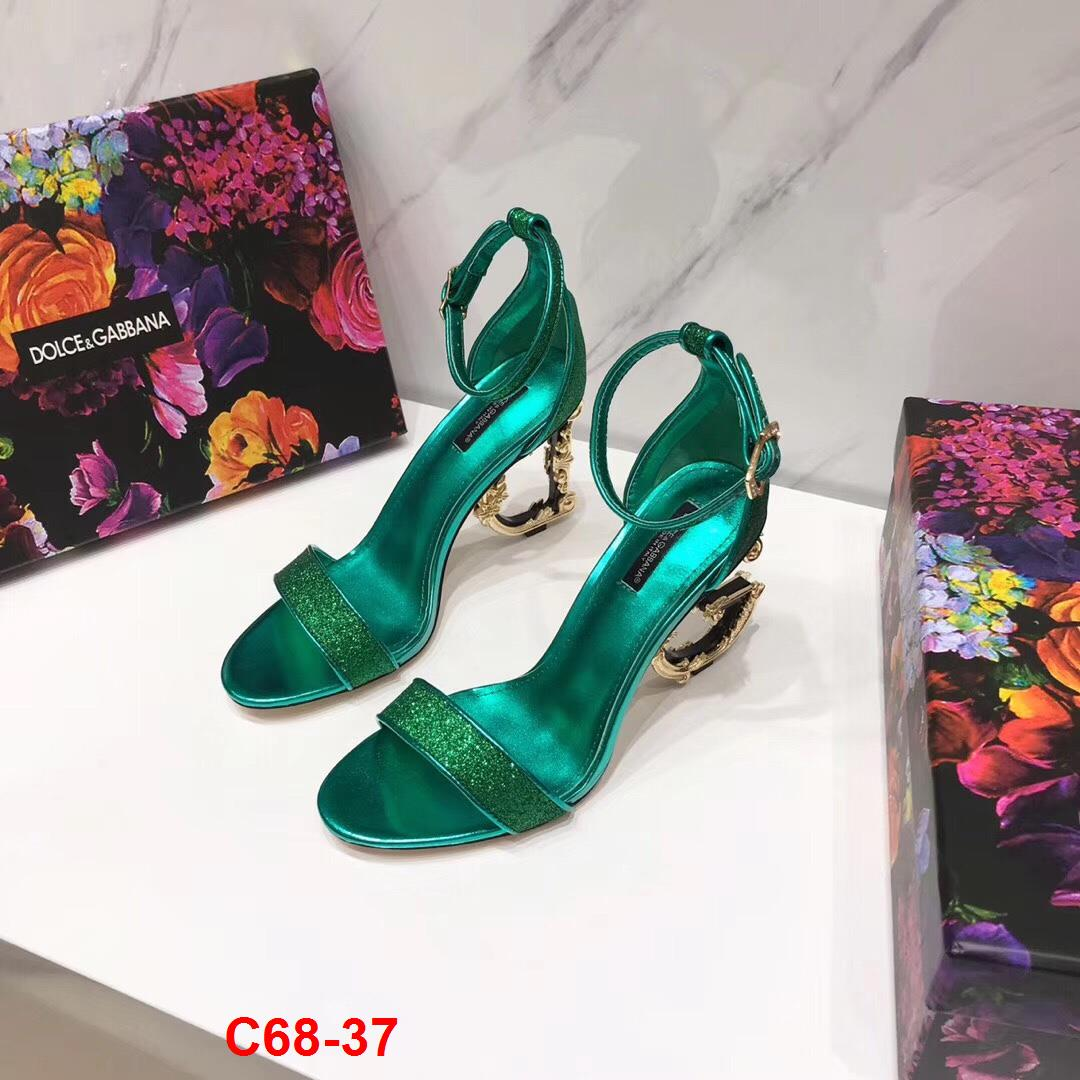 C68-37 Dolce Gabbana sandal cao 10cm siêu cấp
