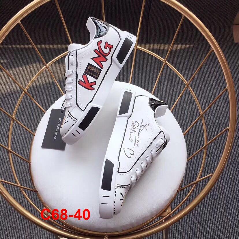 C68-40 Dolce Gabbana giày thể thao siêu cấp