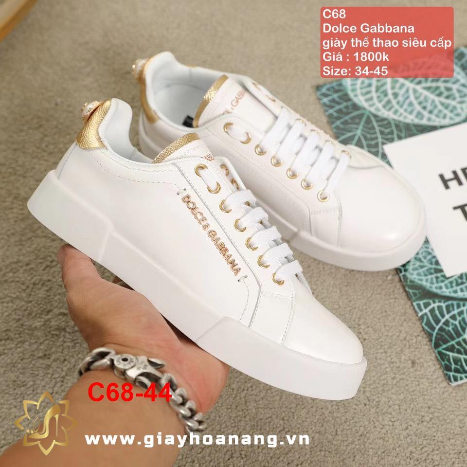 C68-44 Dolce Gabbana giày thể thao siêu cấp