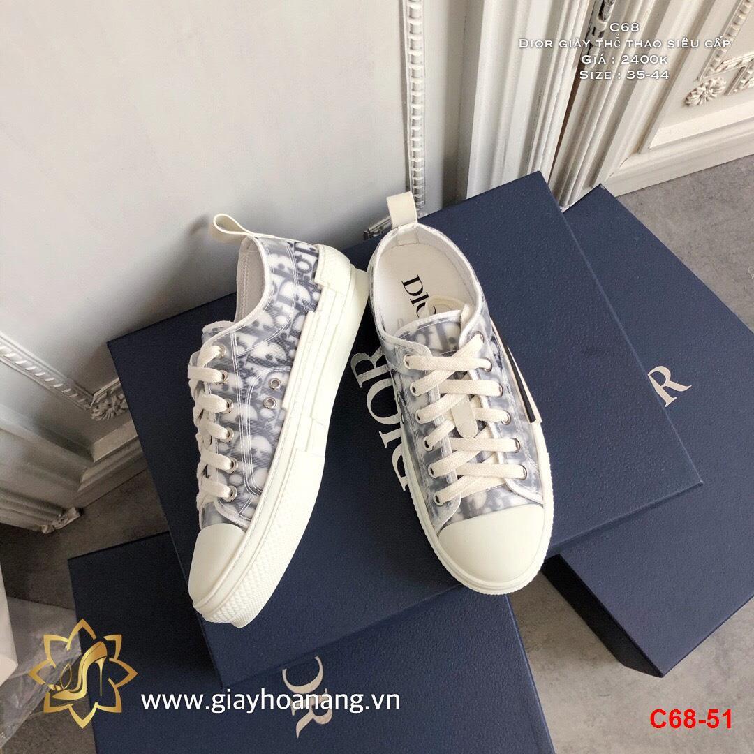 C68-51 Dior giày thể thao siêu cấp